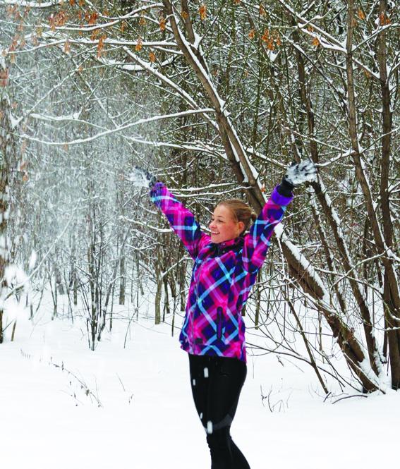 Begioti malonu ir ziema