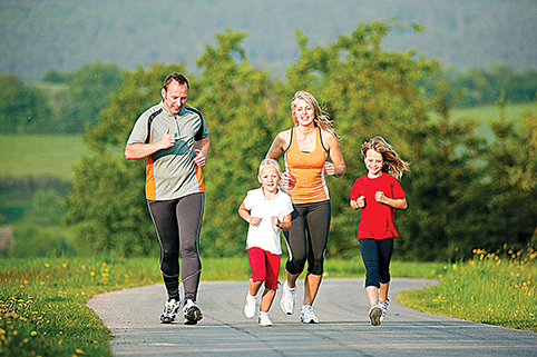 Bendruomenės nariai, bendraukime, bendradarbiaukime ir tapkime fiziškai aktyvesni