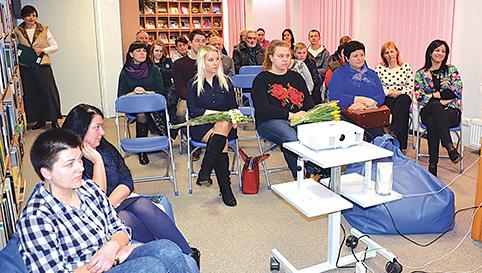 Renginio svečiai buvo sužavėti kraštietės režisierės A. Piroženko kūryba