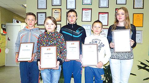 (Iš kairės) Aurimas, Vitalija, Deimantas, Jonas, Neringa