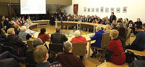 Rajono savivaldybėje vykusiame susitikime aktyviai dalyvavo ne tik Trakų, bet ir rajono gyventojai