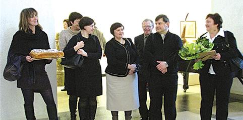 Svečiuojamės Panevėžyje, sveikiname kraštietį skulptorių Juozą Lebednyką