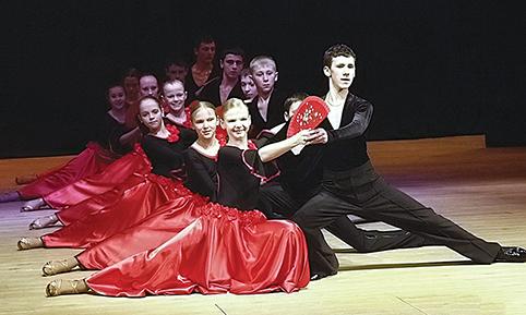 """Trakų kultūros rūmų šokių kolektyvas """"Gija"""""""