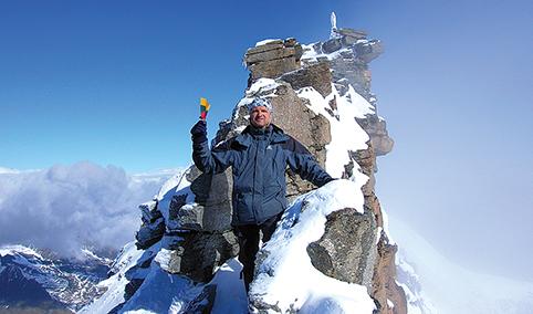 Nepakartojamų įspūdžių meistras patiria kelionėse po kalnus