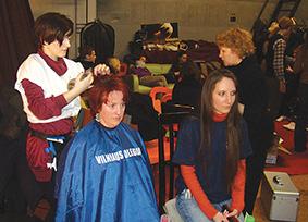 Chorų karai (2011m.), kuriuose dirbo šukuosenų dizaino studentai ir dėstytojos S. Grušnienė ir I. Čirvinskienė