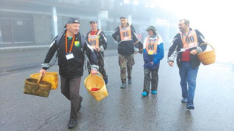 Trakų rajono grybautojų komanda – pasaulio čempionai