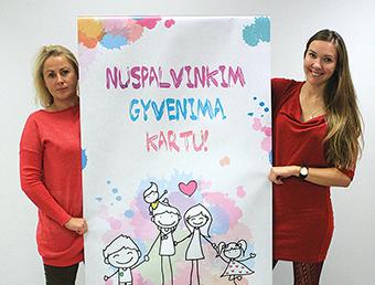 Globėjų ir įtėvių rengimo specialistės Ramunė Birgiolienė (kairėje) ir Aistė Jankauskaitė