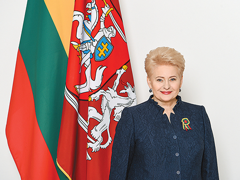 Lietuvos Respublikos Prezidentė Dalia Grybauskaitė (1)