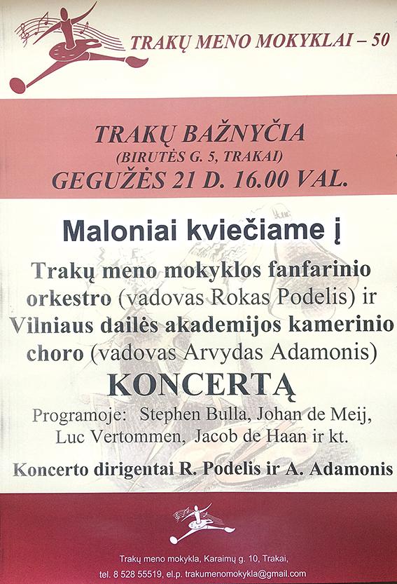 koncerto afisa